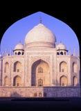 Taj Mahal Agra India Stock Photo