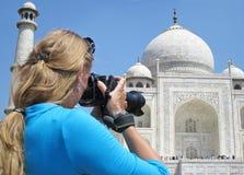 Taj Mahal Agra, India stock fotografie