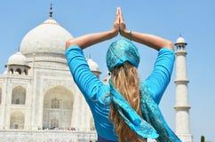 Taj Mahal Agra, India Royalty-vrije Stock Foto's