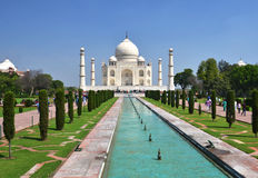 Taj Mahal. Agra, India Royalty Free Stock Images