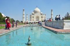 Taj Mahal. Agra, India Stock Image