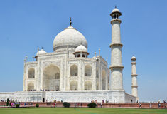 Taj Mahal Agra, India Imagem de Stock Royalty Free