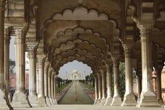 Taj mahal in agra Royalty Free Stock Photos