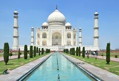 Taj Mahal Agra, India Imagem de Stock