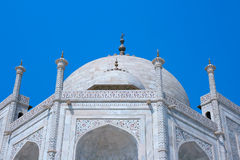 Taj Mahal, Agra, India. Royalty Free Stock Photos