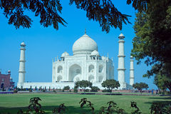 Taj Mahal in Agra, India Stock Photos