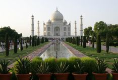 Taj Mahal (Agra, India) Royalty Free Stock Photography