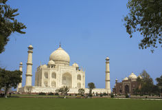 Taj Mahal at Agra, India Stock Photography