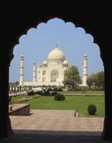 Taj Mahal at Agra, India. Taj Mahal viewed through an Arch at Agra, India Stock Photos