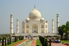 Taj Mahal, Agra, India, architecture, mausoleum. Taj Mahal, Agra India architecture mausoleum, palace Stock Images