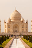 Taj Mahal in Agra India as portrait Royalty Free Stock Image