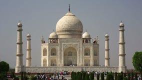 Taj Mahal, Agra, India stock footage