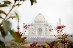 The Taj Mahal in Agra, India. A different side of  the Taj Mahal in agra India. Famous historic building looks the same from all four sides Stock Photography