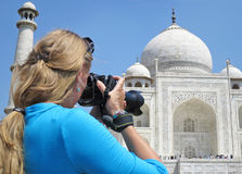 Taj Mahal. Agra, India Stock Photography