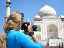Taj Mahal. Agra, India Royalty Free Stock Image