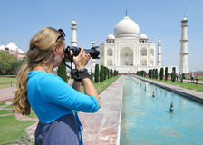 Taj Mahal. Agra, India Royalty Free Stock Photos