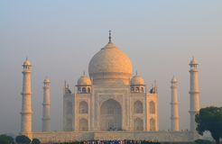 Taj Mahal Agra India. Iconic architecture Taj Mahal Agra India Stock Image