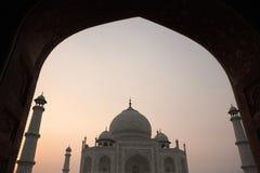 Taj Mahal - Agra, India Stock Image