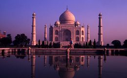 Taj Mahal, Agra, India Stock Photography