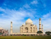 Taj Mahal, Agra, India. Taj Mahal. Indian Symbol - India travel background. Agra, India Stock Image