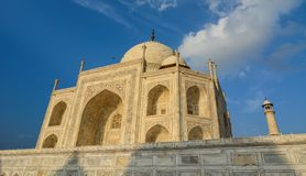 Taj Mahal in Agra, India stock photography