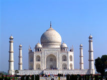 The Taj Mahal, Agra Royalty Free Stock Photo