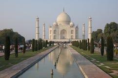 Taj Mahal in Agra, India - November 2011 Stock Fotografie