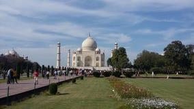 Taj mahal in Agra, India Stock Image