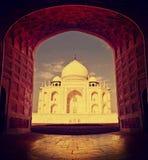 Taj Mahal in Agra, India. Royalty Free Stock Photo