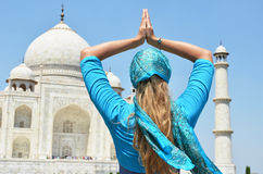 Taj Mahal. Agra, India Royalty Free Stock Photos