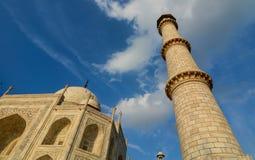 Taj Mahal in Agra, Indien stockfotos