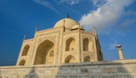 Taj Mahal in Agra, Indien stockfotografie