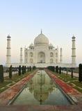 Taj Mahal, Agra, Indien Stockfotografie