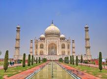 Taj Mahal Agra, Indien Royaltyfria Foton