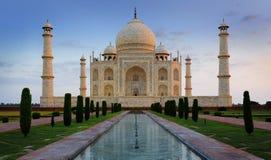 Taj Mahal Agra, Indien Royaltyfria Bilder