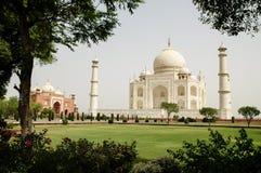 Taj Mahal in Agra, Indien Lizenzfreies Stockfoto