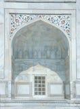 Taj Mahal, Agra, Indien. Stockbilder