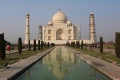 Taj Mahal - Agra Indien Royaltyfri Bild