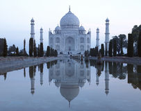 Taj Mahal - Agra - l'India fotografie stock