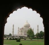 Taj Mahal, Agra, la India Imágenes de archivo libres de regalías