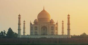 Taj Mahal - Agra, la India Imágenes de archivo libres de regalías