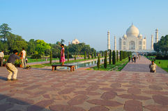 Taj Mahal in Agra Royalty Free Stock Images