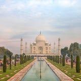 Taj Mahal, Agra, Uttah Pradesh, India Obraz Stock