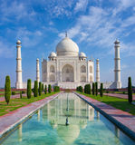 Taj Mahal. In Agra, Uttar Pradesh, India Stock Image