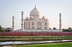 Taj Mahal in Agra Royalty Free Stock Photo