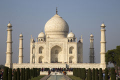 Taj Mahal. At Agra, Uttar Pradesh, India Royalty Free Stock Images
