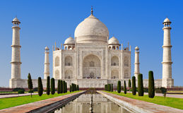 Taj Mahal, Agra Royalty Free Stock Photo