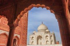 Taj Mahal. Agra Uttar Pradesh India royalty free stock images