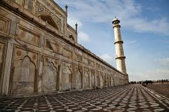 Taj Mahal, Agra, Uttar Pradesh, India Stock Photography