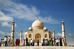 Taj Mahal, Agra, Uttar Pradesh, India Royalty Free Stock Photos